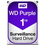 WESTERN DIGITAL 1TB PURPLE 64MB 3.5IN SATA 6GB/S INTELLIPOWER (WD10PURX)