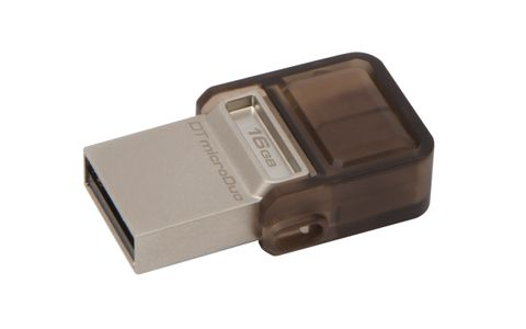 KINGSTON Flash USB 2.0  16GB Kingston DTMicroDuo (DTDUO/16GB)