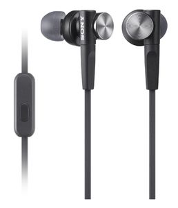 SONY HEADPHONES WALKMAN IPOD AND PC MOBILE HIGH-RES LINE-OUT SILVER  IN ACCS (MDRXB50APB.CE7)