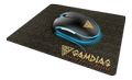 GAMDIAS Zeus E1A RGB, optical mouse + mouse mat