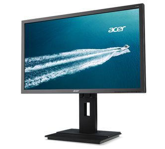 ACER B6 B246HYLA 23.8i 6ms 100M:1 ACM TFT LED IPS DVI (w/HDCP) Black EcoDisplay 250cd/m  height adjust Pivot speaker darkgrey (UM.QB6EE.A05)