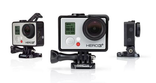 GoPro The Frame - Støttesystem - for HERO3; HERO3+ (ANDFR-301)