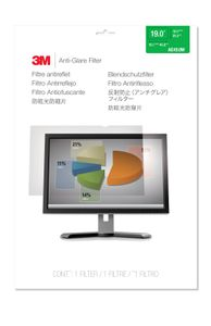 3M AG19.0W ANTI-GLARE FILTER FOR 19.0IN / 48.3 CM / 16:10 ACCS (98044058380)