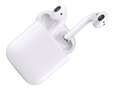 APPLE AirPods, wireless in-ear headphones,  bluetooth,  white