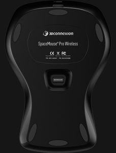 3DCONNEXION SpaceMouse Pro Wireless Wireless professional 3D mouse - 15 programmable buttons - OSD - 6 DoF (3DX-700049)