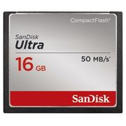 SanDisk Compact Flash Card 16GB Ultra 50MB/s