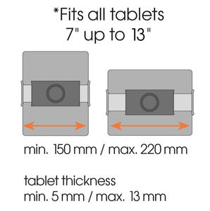 VOGELS TMS 1010 Tablet Wall Pack (+ 2 adhesive disks) - qty 1 (8371010)