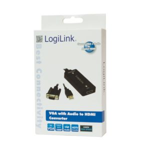 LOGILINK - VGA with Audio to HDMI Converter (CV0060)