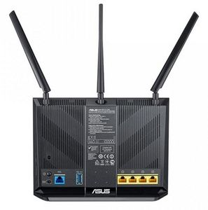 ASUS DSL-AC68U Dual-Band Wireless-AC1900 Gigabit ADSL/VDSL Modem Router (90IG00V1-BU2G00)