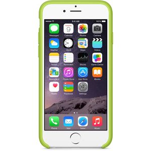 APPLE IPHONE 6 SILICONE CASE (GREEN) (MGXU2ZM/A)