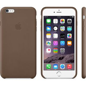 APPLE IPHONE 6 PLUS LEATHER CA (OLIVE BROWN) (MGQR2ZM/A)