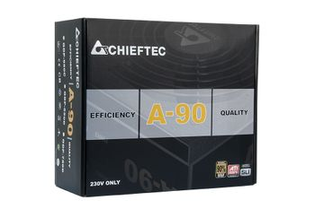 CHIEFTEC A-90 750W retail 80 Plus Gold, cable man (GDP-750C)