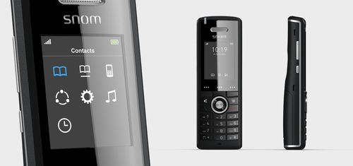 SNOM DECT CORDLESS ADVANCED PHONE INCL. HANDSET PSU CHARGING UNIT  IN WRLS (3969)