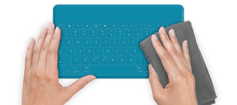 LOGITECH KEYS TO GO ULTRA PORTABLE KEYB IPAD TEAL FRA BT