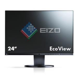 "EIZO 24"" LED FlexScan EV2450-BK 1920x1080 IPS, 5ms, 1000:1, Speakers, VDA/ DVI/ HDMI/ DP (EV2450-BK)"