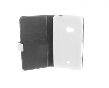 INSMAT Exclusive Flip Case Lumia 625 White (650-2044)