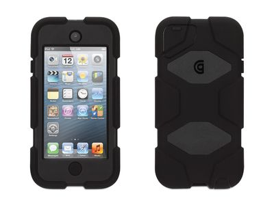 GRIFFIN SURVIVOR ALL TERRAIN MOBILE FOR IPOD TOUCH 5G AND 6G IN BLK/ BLK/ BLK (GB35694-3)