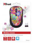 TRUST Yvi Wireless Mouse - flower power (20250)