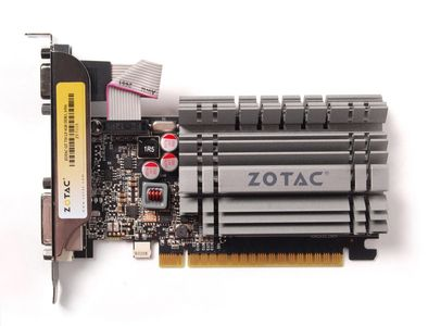 "ZOTAC GeForce GT 730 4GB PhysX CUDA PCI-Express 2.0, DDR3, ""Synergy Edition"", DL-DVI-D, HDMI, VGA, 2x LP bracket (ZT-71115-20L)"