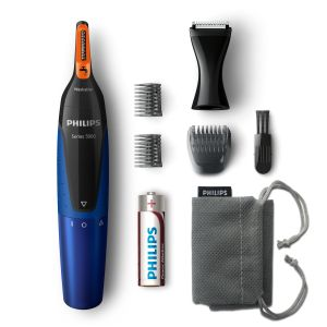 PHILIPS NOSETRIMMER Series 5000 NT5175 Blå/sort (NT5175/16)