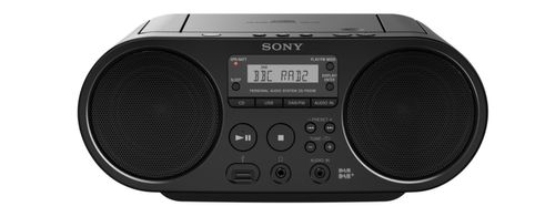 SONY CD BOOMBOX WITH DAB TWO SPEAKERS                     IN CONS (ZSPS55B.CED)