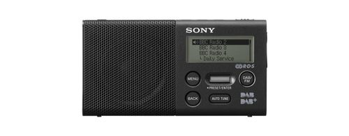 SONY Pocket size DAB radio - Black (XDRP1DBPB.CE7)