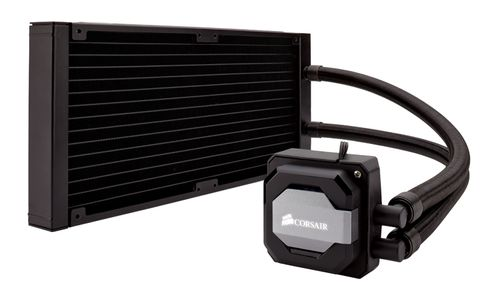 CORSAIR Water Cooling, Hydro Series H110i GT, Fan dimensions 140mm x 25mm  Radiator Dimensions 140mm x 322mm x 27mm (CW-9060019-WW)