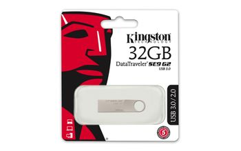 KINGSTON 32GB USB3.0 DataTraveler SE9 G2 (DTSE9G2/32GB)