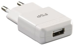 FSP/Fortron USB Charger 5V2_1A (wh) SCP_ OVP_ OCP_ OTP (PNA0100204)