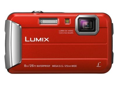 PANASONIC DMC-FT30EG-D 25MM WW ORANGE 4X ZM 8M WTPRF HD-VID 2.7INLCD   IN CAM (DMC-FT30EG-D)