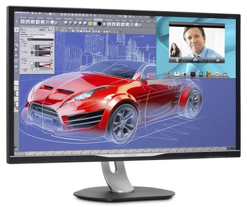 "PHILIPS 32"" LED BDM3270QP 2560x1440 VA, 4ms, 50m:1, Speakers, Pivot, VGA/ DVI/ HDMI/ DP (BDM3270QP/00)"