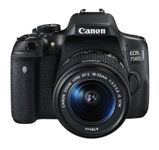 CANON EOS 750D 18-55MM IS STM + EF-S 3.5-5.6 IS STM            IN CAM