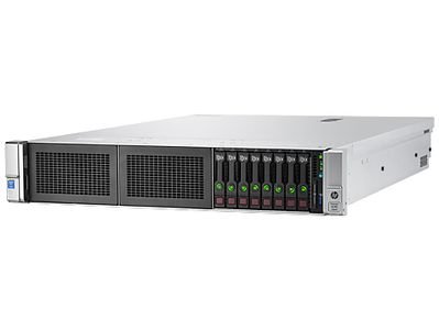 Hewlett Packard Enterprise ProLiant DL380 Gen9 E5-2690v3 2P 32GB-R P440ar 8SFF 2x10Gb 2x800W OneView Server (803861-B21)