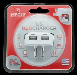 SKROSS US USB Charger - qty 1 (1.302710)