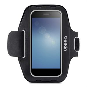 BELKIN Universal Sport-Fit Armband Small,  iPhone 5, 6, Samsung S4, S5,HTC, One M8 (F8M952BTC00)
