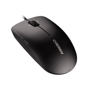 CHERRY MC 2000 USB CORDED MOUSE BLACK           IN PERP (JM-0600-2)