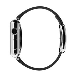 APPLE Watch 38 mm modernes Armband medium schwarz (MJY82ZM/A)