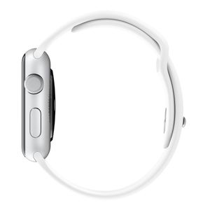 APPLE Watch 42 mm Sport Band weiá (MJ4M2ZM/A)