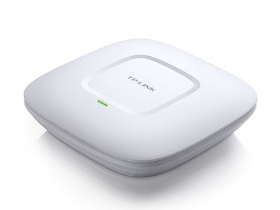 TP-LINK 300Mbps Wireless N Ceiling/ Wall Mount Access Point QCOM 300Mbps at 2.4Ghz (EAP110)