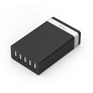 I-TEC USB Smart Charger 5 Port 40W/8A for iPad/ iPhone Samsung phones and other (CHARGER5P40W)