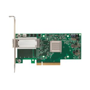 MELLANOX ConnectX®-4 EN network interface card, 40/56GbE single-port QSFP28, PCIe3.0 x8, tall bracket, ROHS R6 (MCX413A-BCAT)