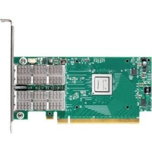 MELLANOX ConnectX®-4 EN network interface card, 40/56GbE dual-port QSFP28, PCIe3.0 x16, tall bracket, ROHS R6 (MCX416A-BCAT)