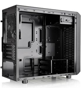 THERMALTAKE Versa H15 Micro Tower Case i/O ports 1xUSB 3.0,1xUSB 2.0,1x HD Audio, fully modular concept, cable management (CA-1D4-00S1NN-00)