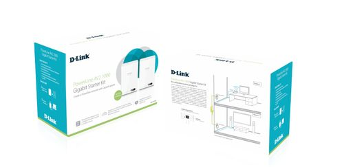 D-LINK PowerLine AV2 1000 HD Gigabit Starter Kit (DHP-601AV/E)