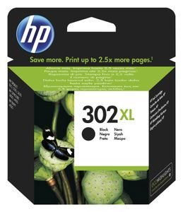 HP F6U68AE ink cartridge black No. 302 XL (F6U68AE)