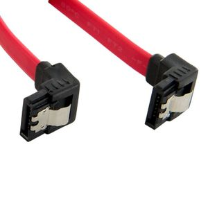 4World HDD Cable | SATA 3 | SATA | 60cm | right | latching | red (08561)