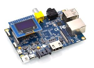 ALLNET banana pi zbh. LCD OLED Display 128x64 Pixel (BananaPi_OLED_Display)