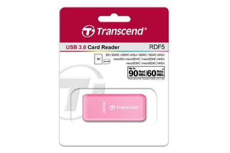 TRANSCEND Card Reader RDF5R F-FEEDS (TS-RDF5R)