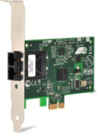 Allied Telesis Secure, PCI-e (x1) Fast Ethernet Fiber (SC) Adapter, includes both standard and low profile brackets (AT-2712FX/SC-001)