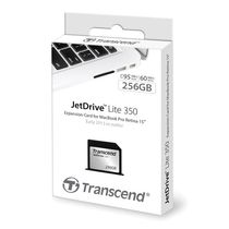 TRANSCEND 256GB JETDRIVELITE 350 F/MACBOOK PRO RETINA 15IN MEM (TS256GJDL350)